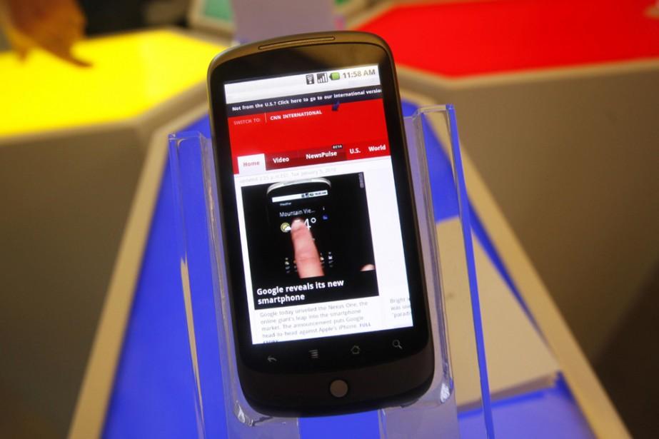 Le système Android est utilisé dans 34 appareils,... (Photo: AP)