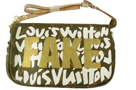 Faux sac Louis Vuitton. Photo tirée du blogue...
