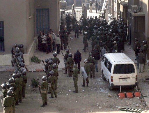 La fusillade a éclaté dans les rues de... (Photo: AFP)