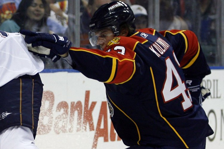 Dmitry Kulikov... (Photo: AP)