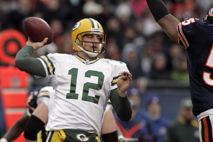 Aaron Rodgers.... (Photo: Frank Polich , Reuters)