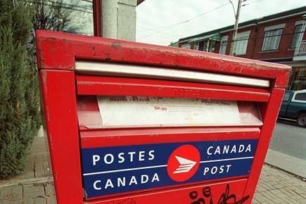 Les activités de Postes Canada... (Photo: Gilles Toupin, archives La Presse)