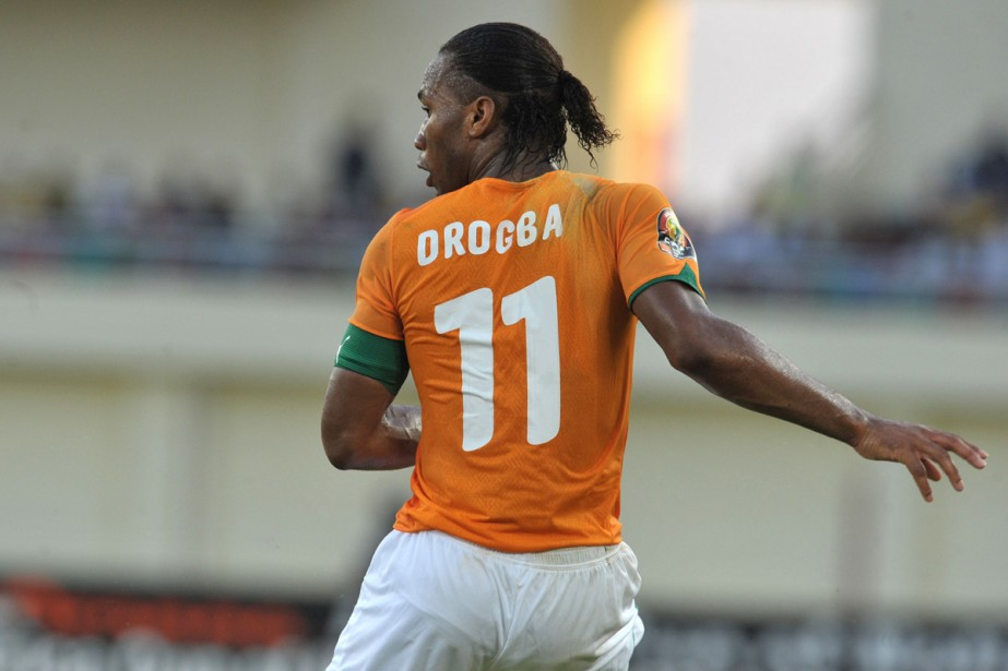 L'Ivoirien Didier Drogba... (Photo: AFP)