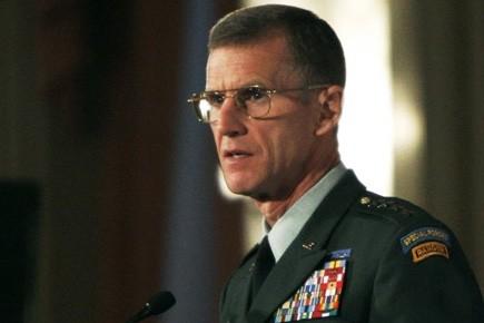 M. McChrystal avait présenté sa démission le 23... (Photo: Reuters)