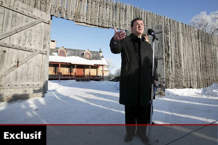 Le ministre des Finances, Jim Flaherty, était en... (Photo: PC)