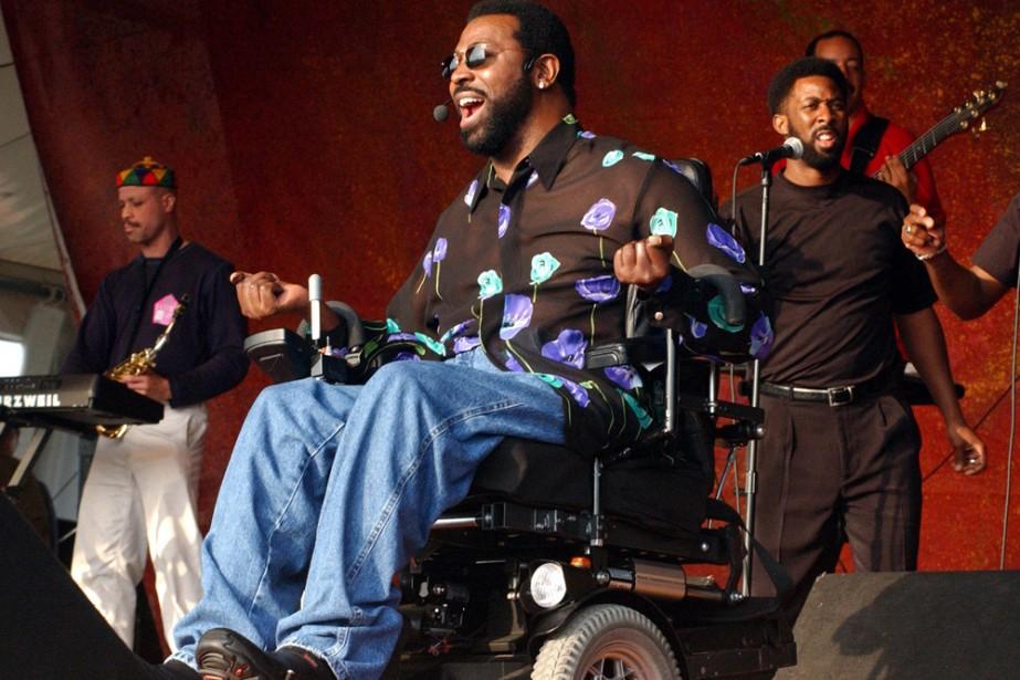Teddy Pendergrass en spectacle à La Nouvelle-Orléans en... (Photo: Reuters)