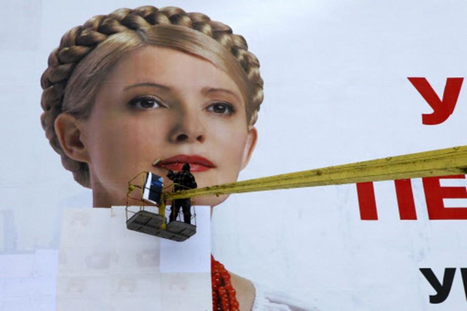 Ioulia Timochenkoserait battue à la présidentielle en Ukraine,... (Photo: archives AP)