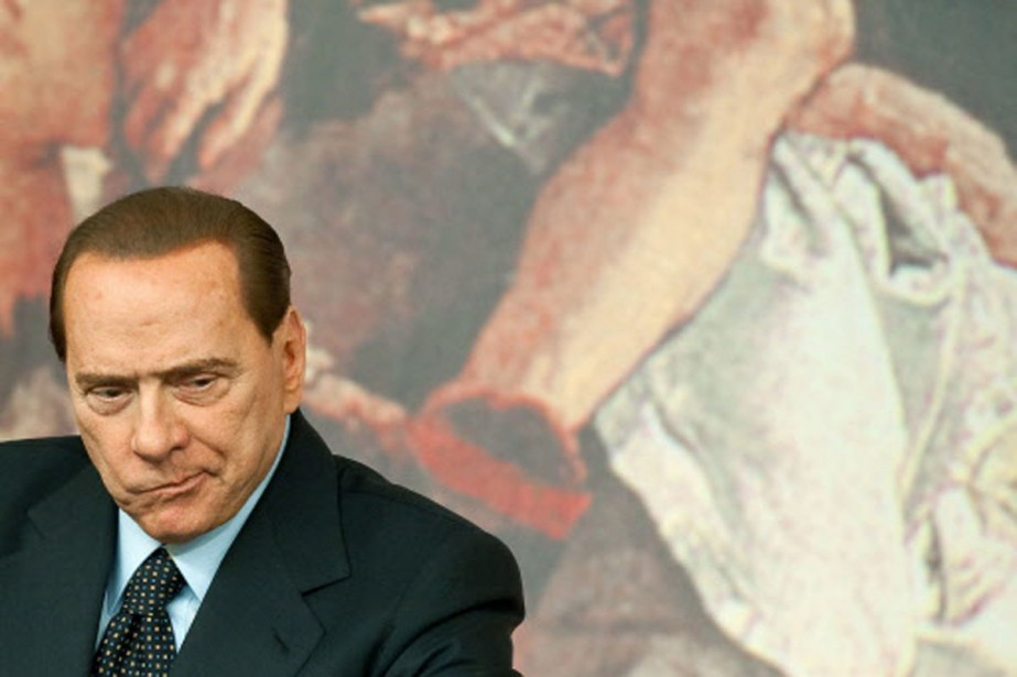 Silvio Berlusconi.... (Photo: AFP)