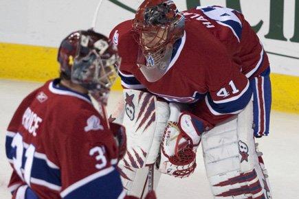 Les deux gardiens du Canadien, Carey Price et... (Photo: André Pichette, La Presse)
