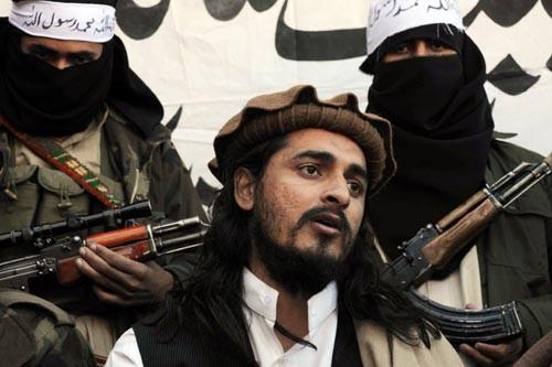 Le chef des talibans pakistanais, Hakimullah Mehsud.... (Photo: Archives AFP)