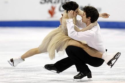 Tessa Virtue et Scott Moir... (Photo: Reuters)