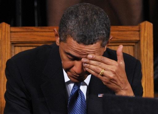 Barack Obama y est allé d'une confession inhabituelle... (Photo: AFP)