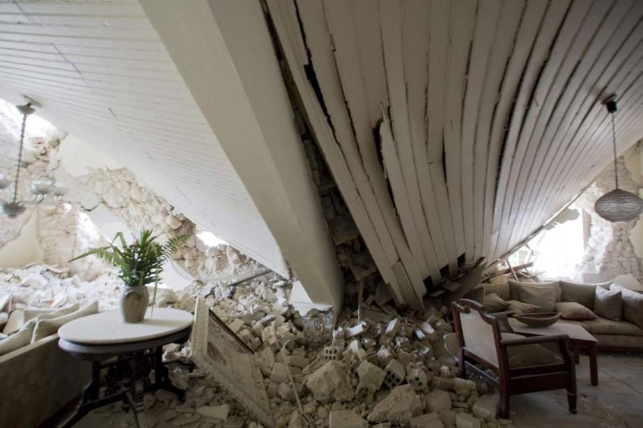 Six jours après le séisme qui a détruit des... (Photo: Ivanoh Demers, La Presse)