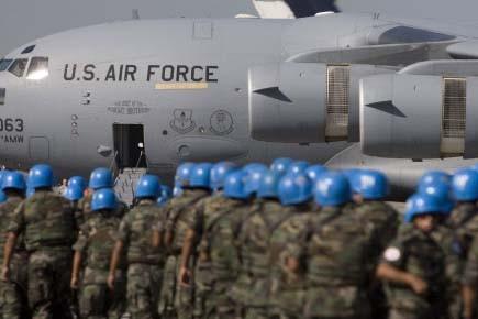 Le secrétaire général des Nations unies Ban... (Photo: David Boily, La Presse)