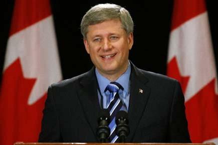 Le chef du Parti conservateur, Stephen Harper.... (Photo: Reuters)