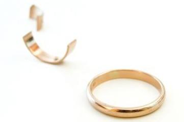 Ces dix dernières années, le nombre de divorces a triplé en... (Photo: AFP)