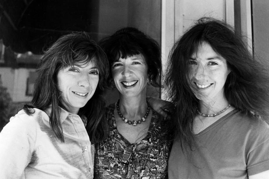 Les trois soeurs McGarrigle photographiées en 1980: Anna,... (Photo: Michel Gravel, archives La Presse)