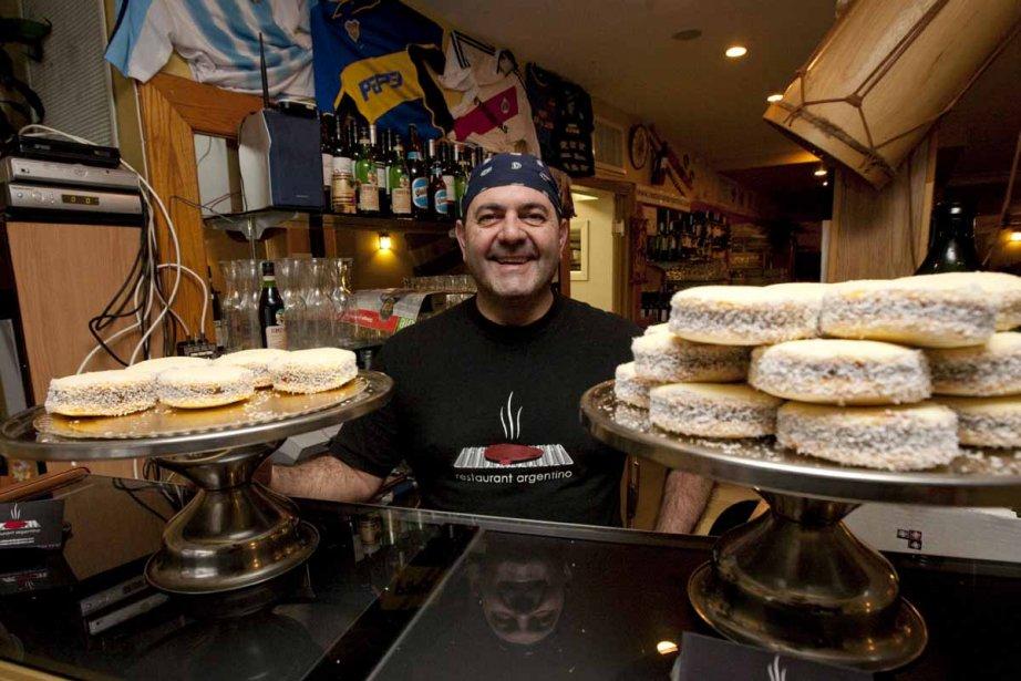 Au restaurant Argentino, le propriétaire est argentin et... (Photo: André Pichette, La Presse)