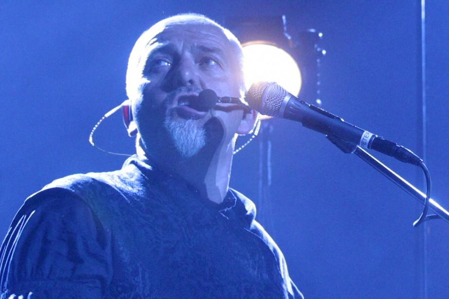 Peter Gabriel en spectacle au Centre Bell en... (Photo: Martin Tremblay, archives La Presse)