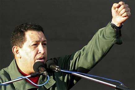Hugo Chavez, président du Venezuela... (Photo: archives Reuters)
