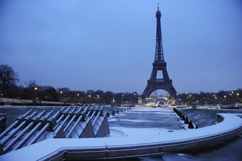 La tour Eiffel, à Paris... (Photo: AFP)