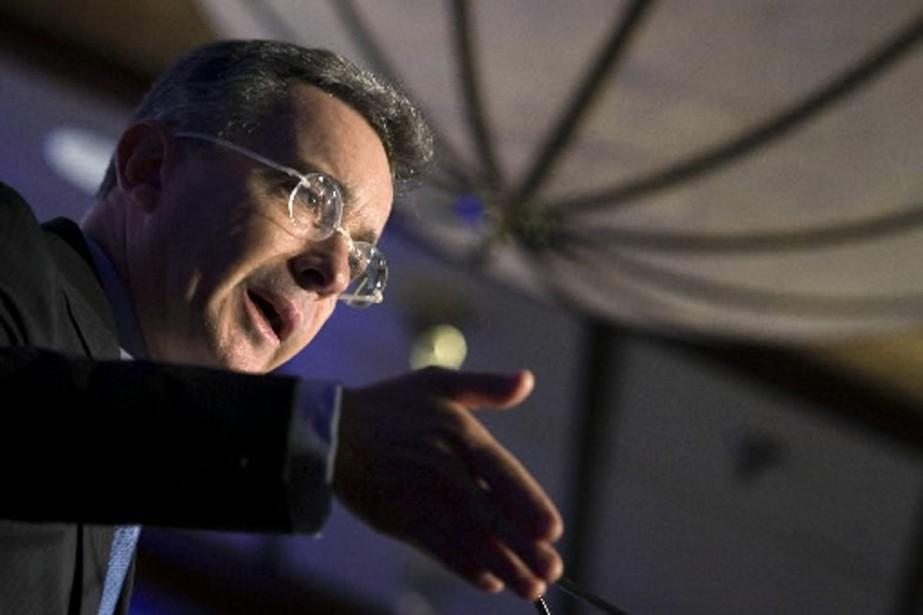 Le président colombien Alvaro Uribe.... (Photo: Reuters)