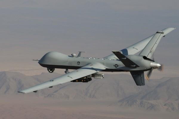 Un drone de l'armée américaine.... (Photo AP)