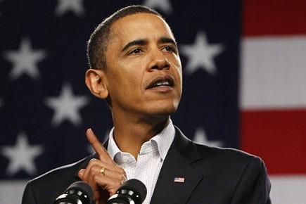Barack Obama, président des États-Unis... (Photo: AP)