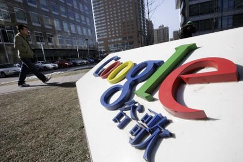 Les bureaux de Google, à Pékin.... (Photo: Reuters)