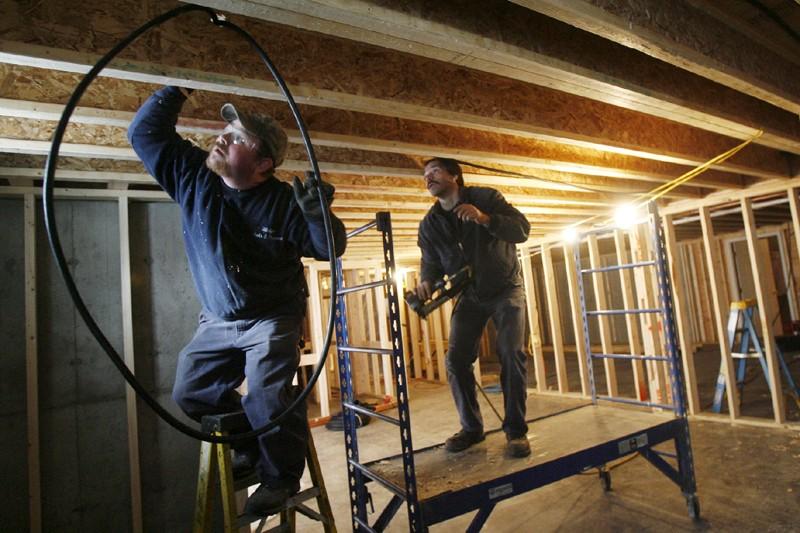 L'amélioration des conditions économiques et des coûts d'emprunt... (Photo Toby Talbot, Archives La Presse)