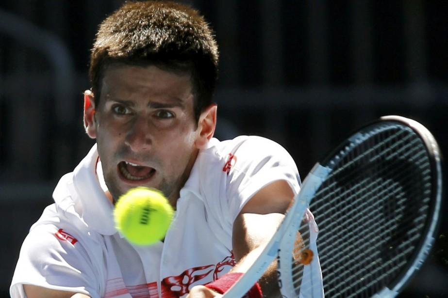 Novak Djokovic... (Photo: AFP)