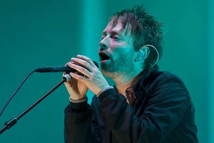 Le chanteur du groupe Radiohead, Thom Yorke... (Photo: André Pichette, La Presse)