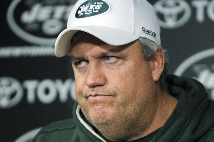 L'entraîneur des Jets de New York, Rex Ryan... (Photo: AP)