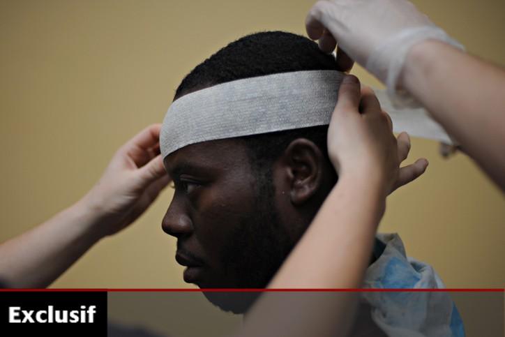 Les médecins spécialistes québécois qui se rendent en Haïti pour... (Photo: AFP)