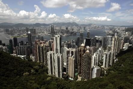 La ville de Hong Kong... (Photo: Reuters)