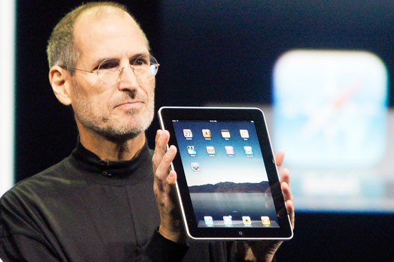 Le iPad lancé par Apple.... (Photo AP)