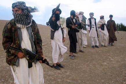 Des combattants talibans en Afghanistan.... (Photo: Archives, AFP)