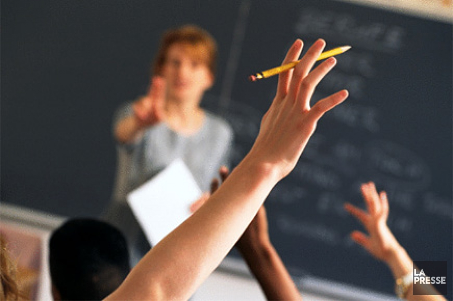 Les élèves du primaire et du secondaire pourraient... (Photothèque La Presse)