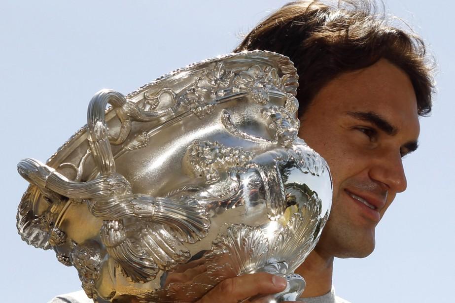 Roger Federer... (Photo: Reuters)