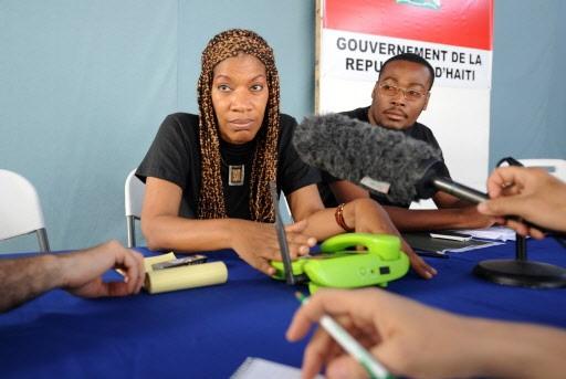 La ministre Marie Laurence Jocelyn Lassegue a évoqué... (Photo: AFP)