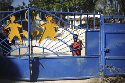 Une ferme de la banlieue de Port-au-Prince devait... (Photo: AFP)