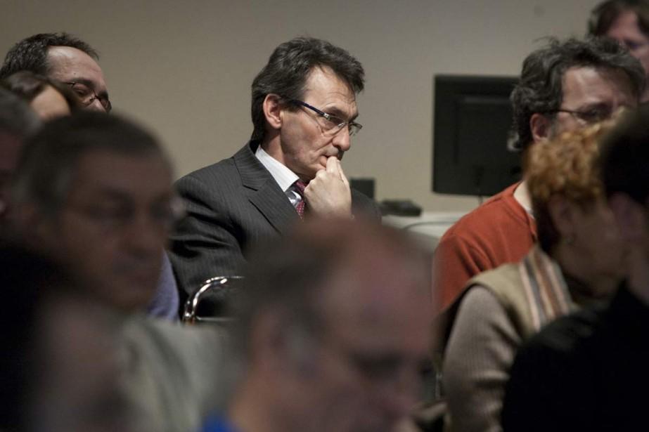 Richard Bergeron, chef de Projet Montréal.... (Archives La Presse)