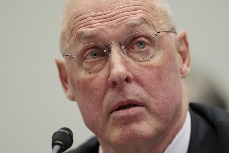 Henry Paulson, secrétaire au Trésor de l'administration Bush,... (Photo Associated Press)