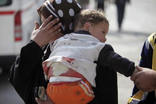 Une kamikaze a tué hier 41 pèlerins chiites... (Photo: AP)