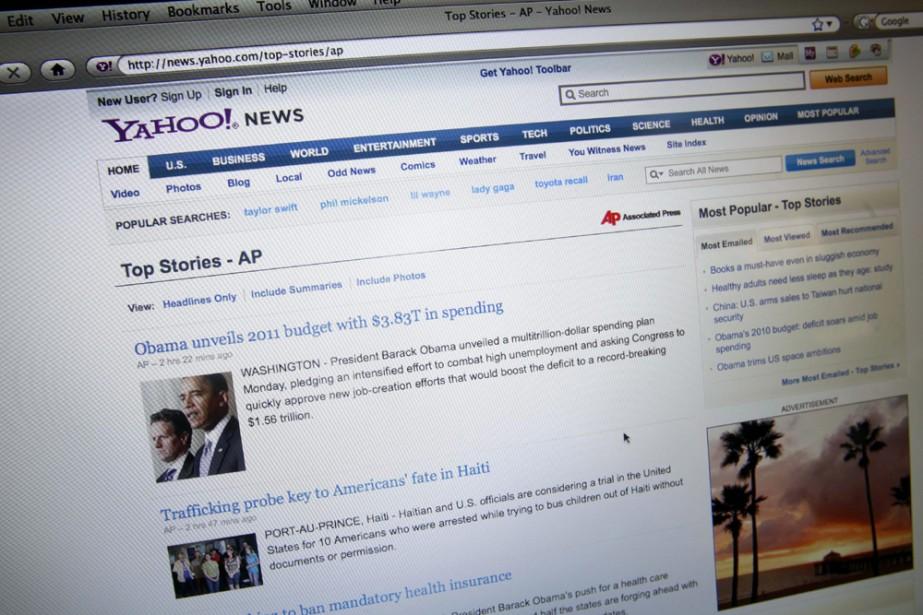 Les nouvelles de l'agence AP sur Yahoo...