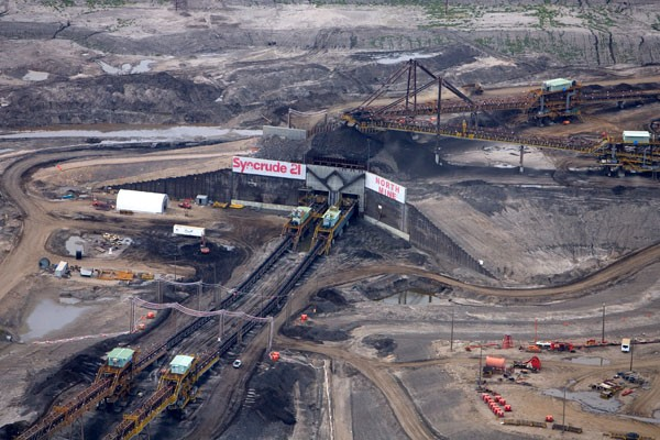 Syncrude est un partenariat dans les sables bitumineux... (Archives La Presse)
