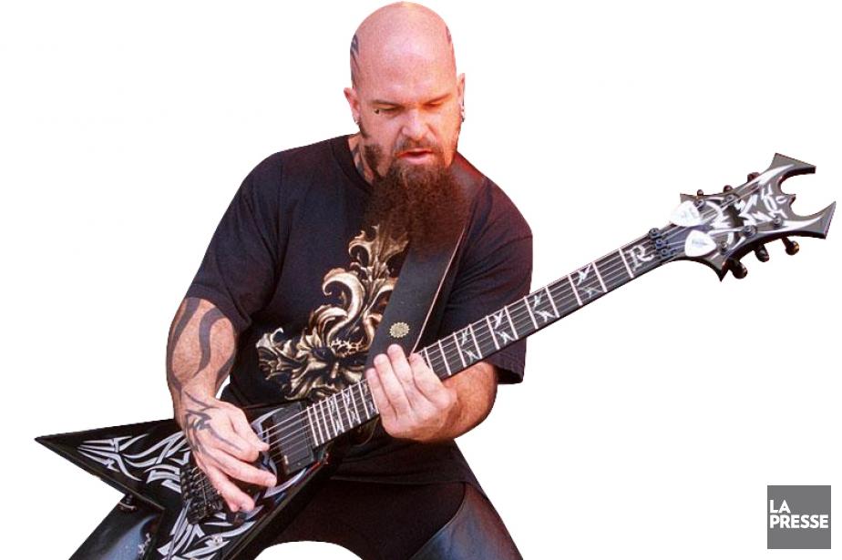Kerry King, guitariste de Slayer.... (Photo: La Presse)