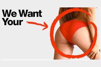 Publicité sur le site d'American Apparel... (Photo: www.americanapparel.net)
