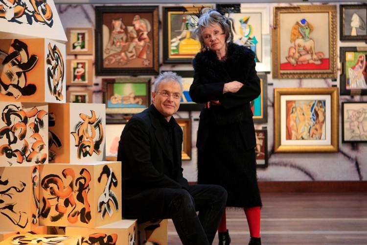 Diane Dufresne et son conjoint Richard Langevin.... (Photo: Martin Chamberland, La Presse)