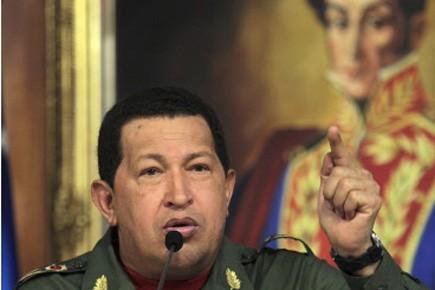 Le président du Venezuela Hugo Chavez, chef de file de la... (Photo: Reuters)